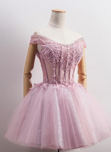 dark pink tulle party dress