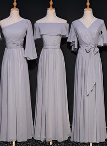 grey bridesmaid dress 2020
