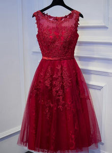 red short prom dress 2020