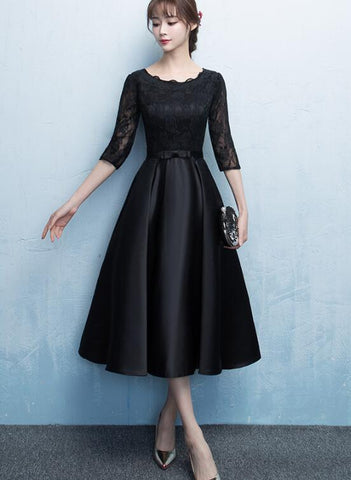 black bridesmaid dress 2020