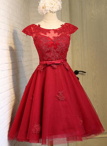 dark red homecoming dress 2019