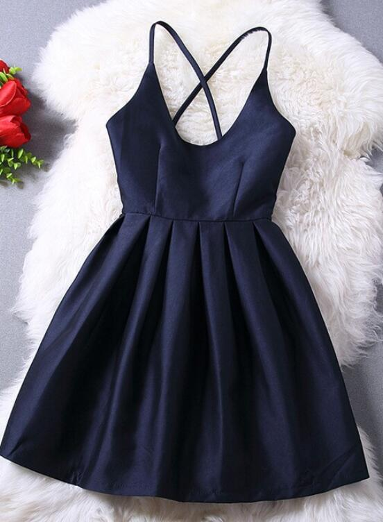 blue party dress