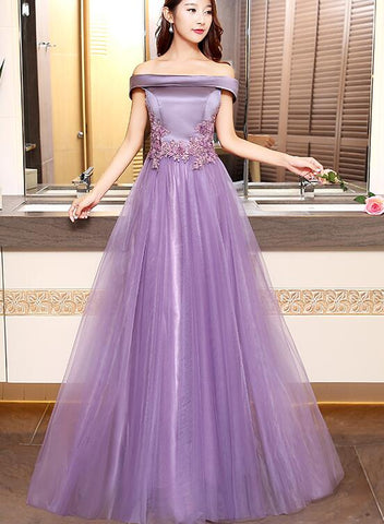 purple prom dress 2020