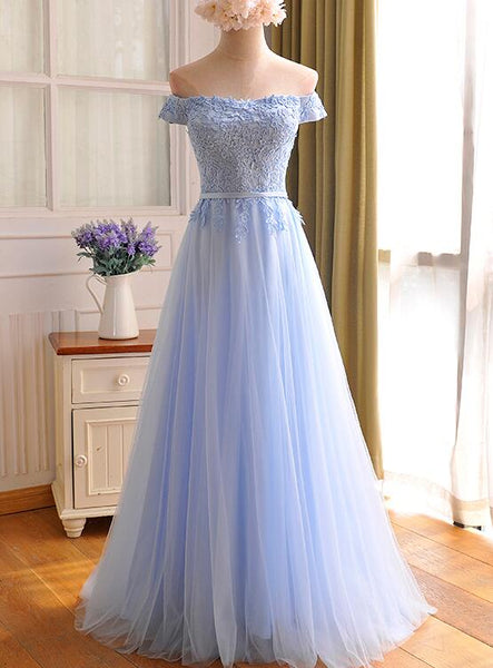 new blue prom dress 2020