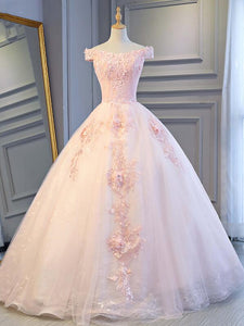 light pink sweet 16 gown