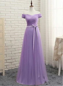 light purple tulle party dress