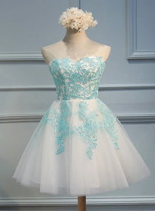 Lovely Tulle Short Sweetheart Party Dress, Cute Party Dress 2020