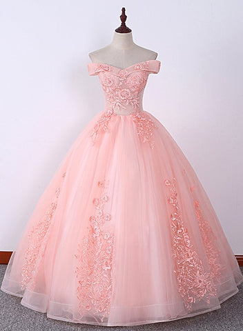 Pink Sweet 16 Gowns