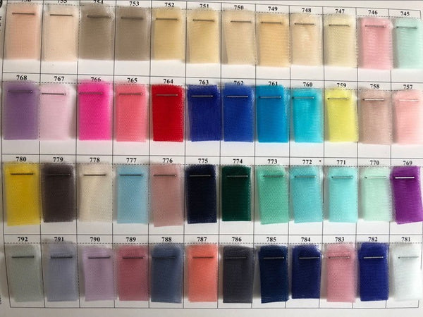 Royal Blue Tulle Color 652 and 762 Swatch
