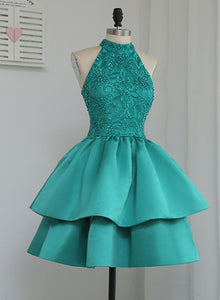 green homecoming dress