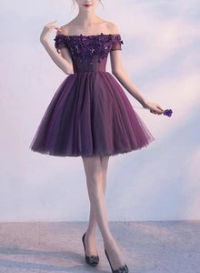 purple homecoming dress 2020