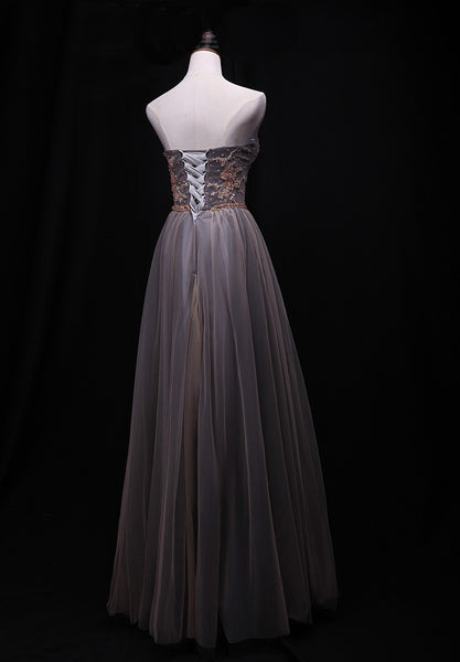 Gorgeous Tulle Sweetheart Long Prom Dress, New Party Dress