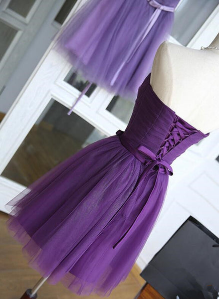 Lovely Purple Homecoming Dress 2019, Cute Formal Dress 2019