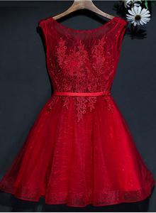 red homecoming dress 2019
