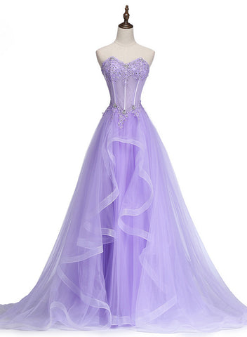 lavender prom dress 2019