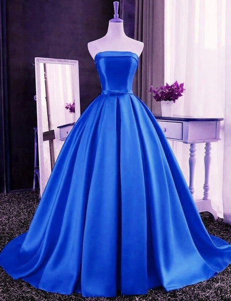 Gorgeous Royal Blue Quinceaner Dress. Sweet 16 Gown