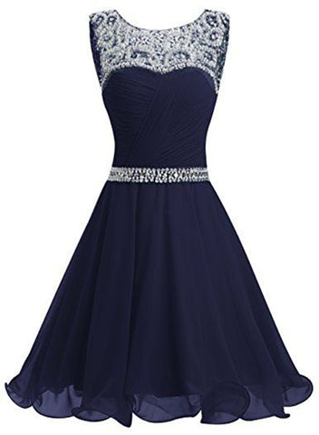 Beautiful Short  Homecoming Dress Featuring Beaded, Short Party Dress