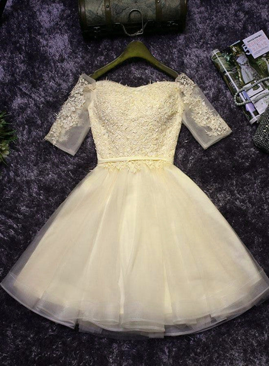 yellow homecoming dress 2019
