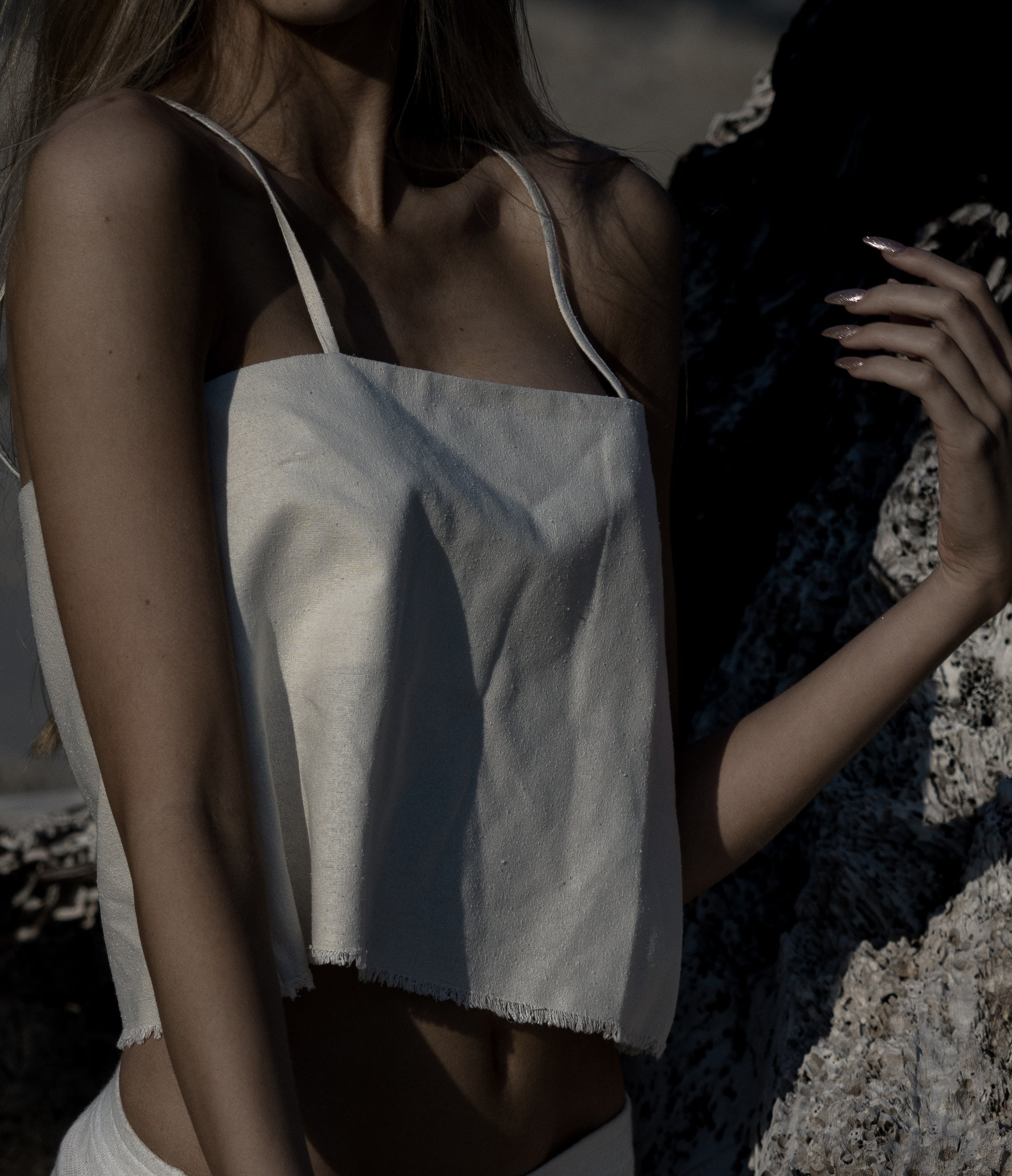 10. Wild Silk Top | Undyed