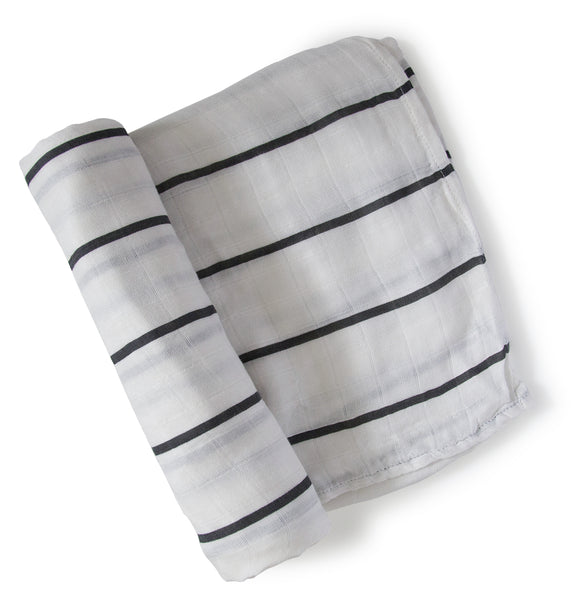 Black Stripe Swaddle