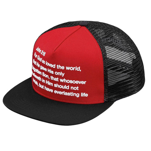 Supreme preach Mesh Back 5 - Panel Hat