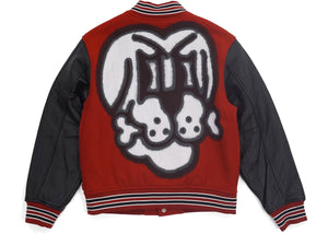 Supreme Bone Varsity Jacket