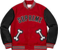 Load image into Gallery viewer, Supreme Bone Varsity Jacket