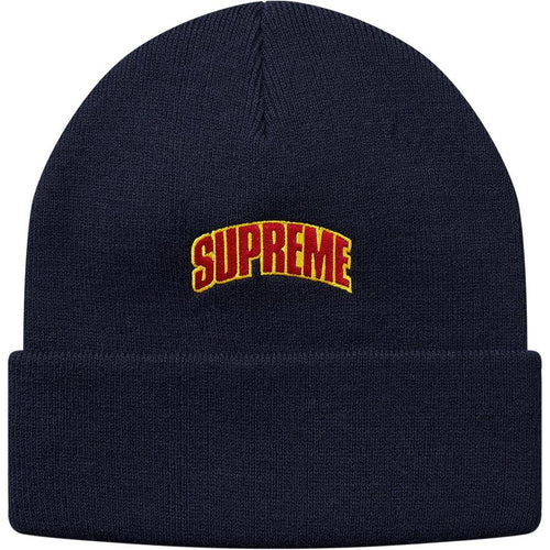 Supreme Crown Logo Beanie Hat