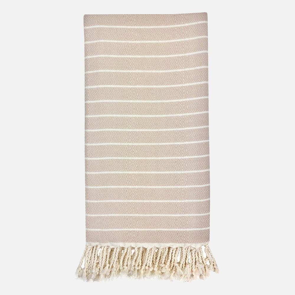 Bamboo Stripe Turkish Towel