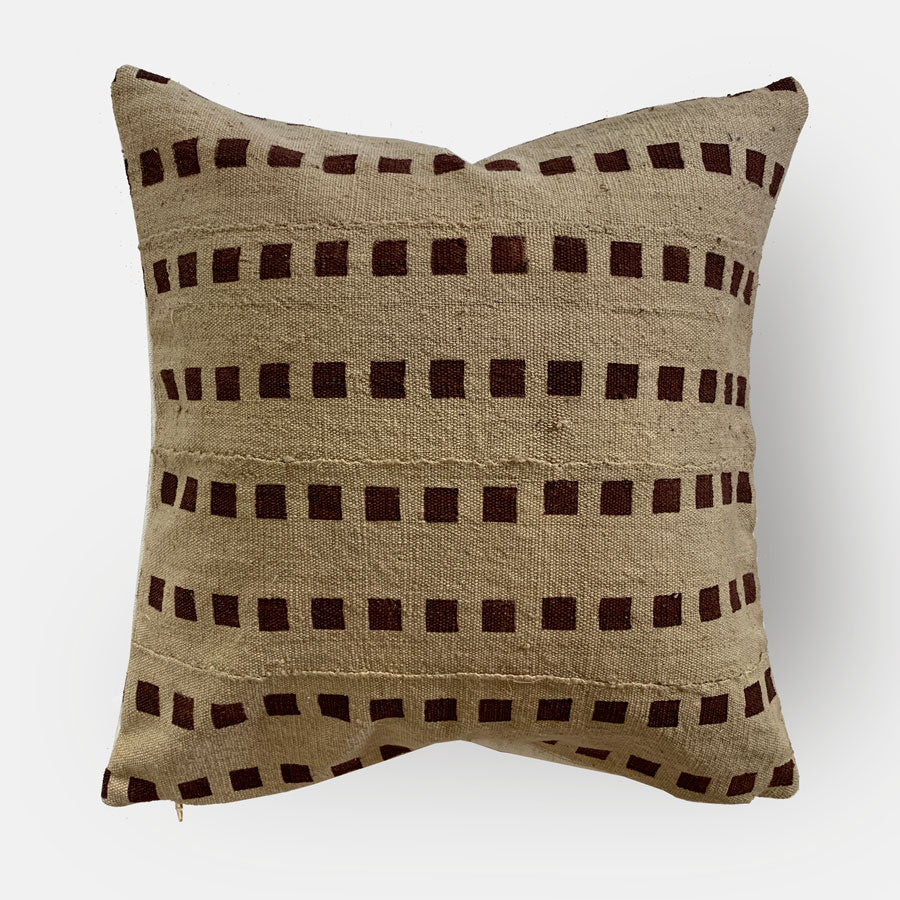 Elaine Vintage Fabric Pillow Cover