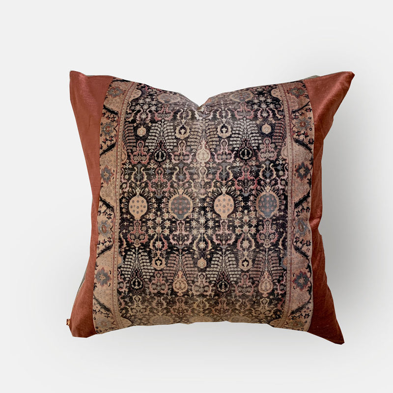 Joyce Vintage Fabric Pillow Cover