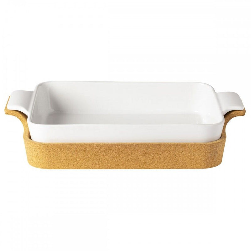Rectangular Baker w/ Cork Tray
