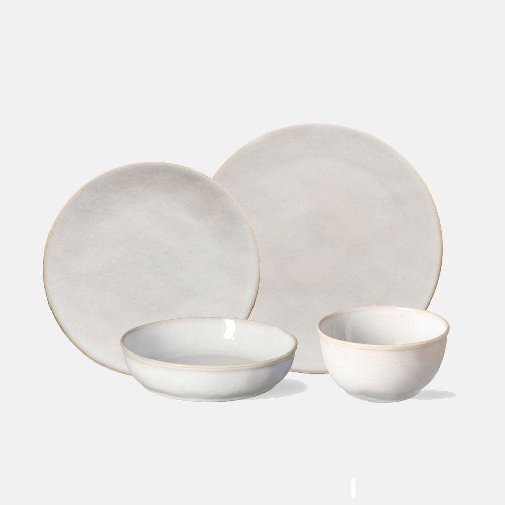 Coconut Roda 4 Piece Dinnerware Set