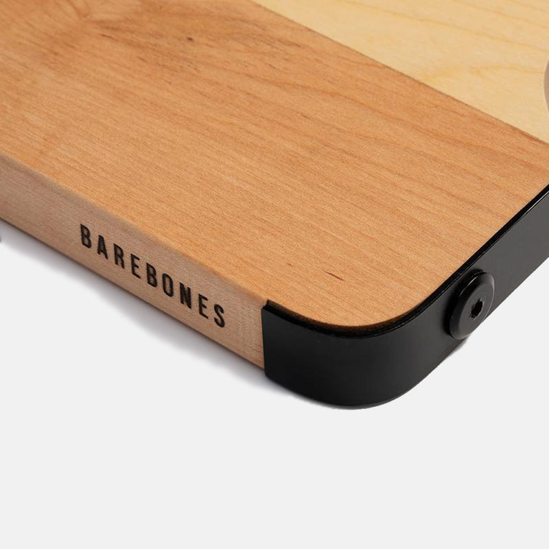 Maple & Steel Cutting Board