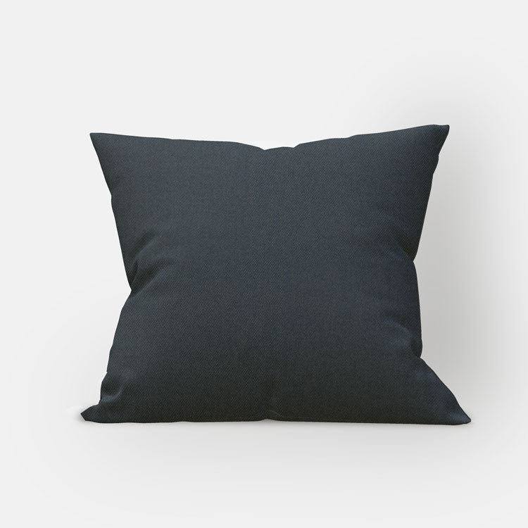 Charcoal Twill Pillow Cover