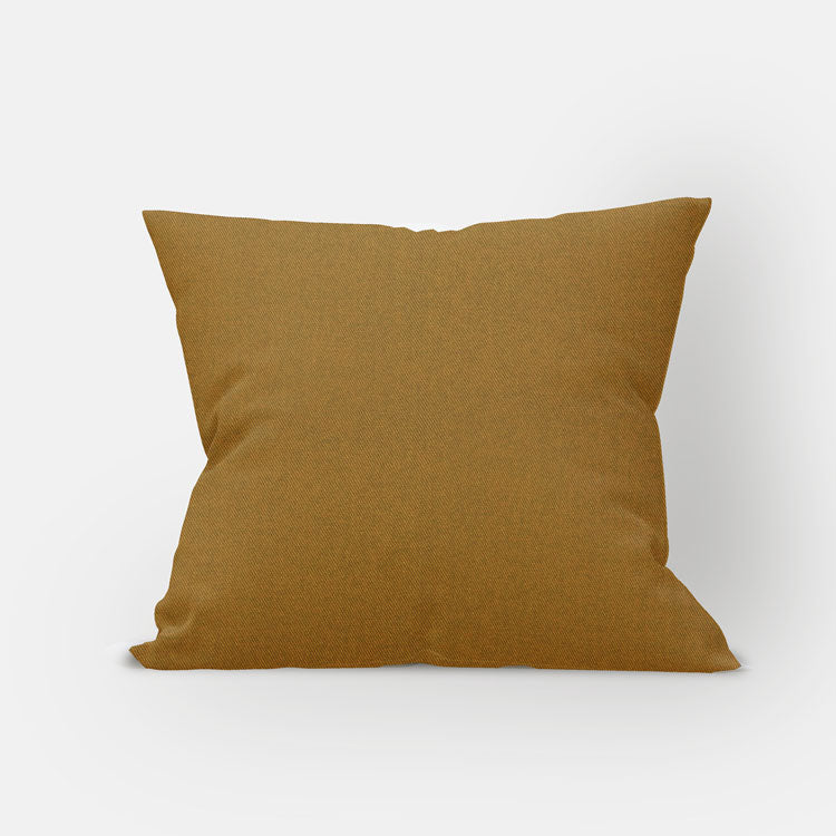 Honey Woven Pillow Cover