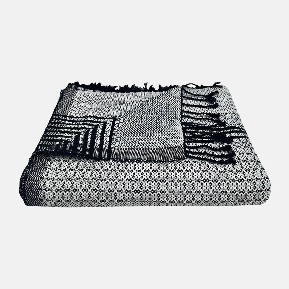 Silver Tapestry Cambodia Throw