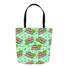 RV Happy Cute Cottage Tote Bag