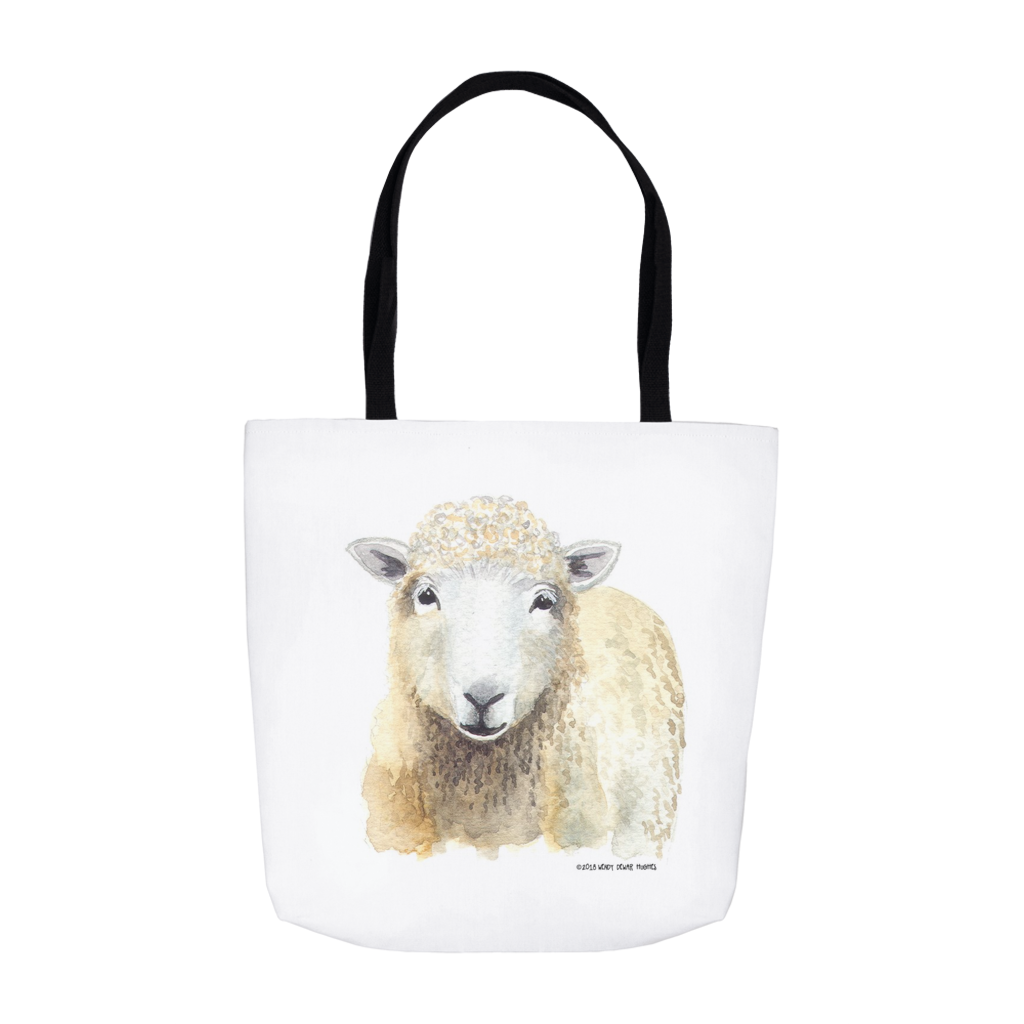 Summer Bay Farm Tote Bags - Sherlock Sheep