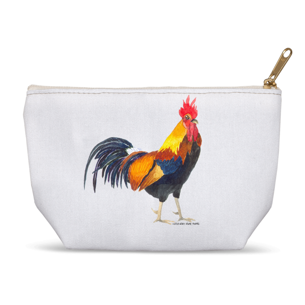 Summer Bay Farm Accessory Pouch - Rocky the Rooster