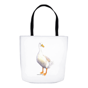 Summer Bay Farm Tote Bags - Mrs. McQuacken the Duck