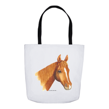 Summer Bay Farm Tote Bags - Cinnamon the Horse