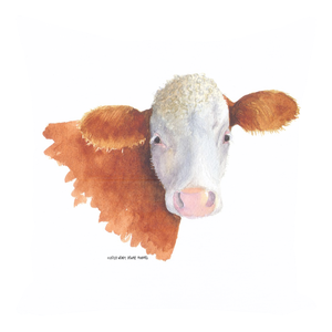 Summer Bay Farm Throw Pillows - Bella the Cow