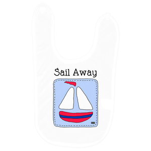 Baby Love Baby Bib - Sail Away
