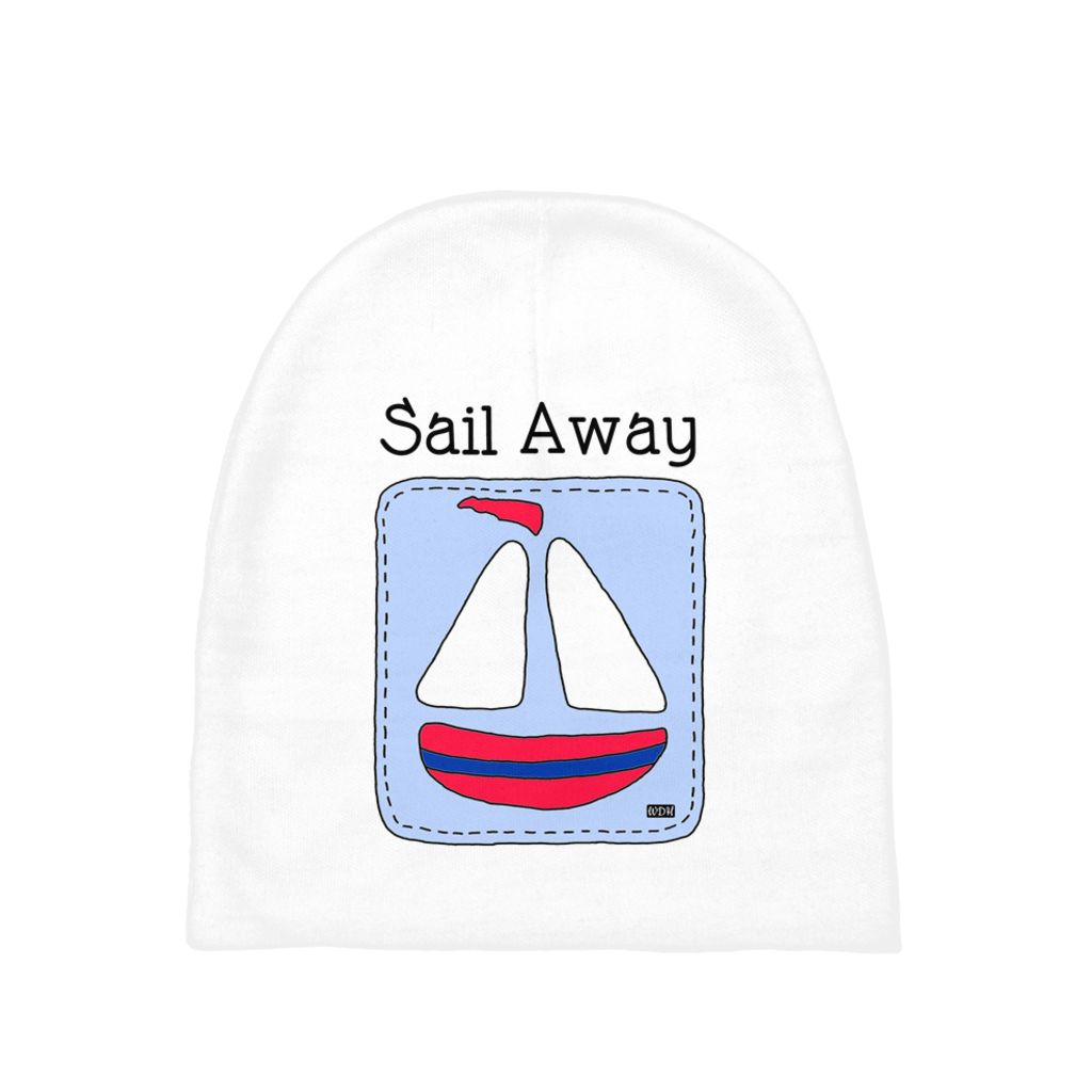 Baby Love Baby Beanie - Sail Away