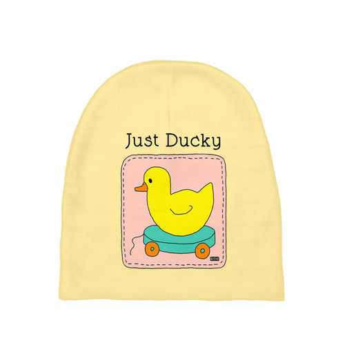 Baby Love Baby Beanie - Just Ducky
