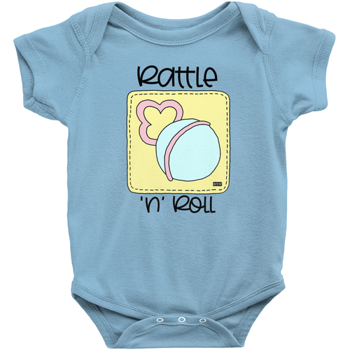 Baby Love Onesies - Rattle 'n' Roll