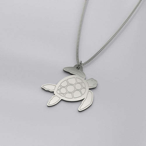 Sea Dreams - Sea Turtle Necklace