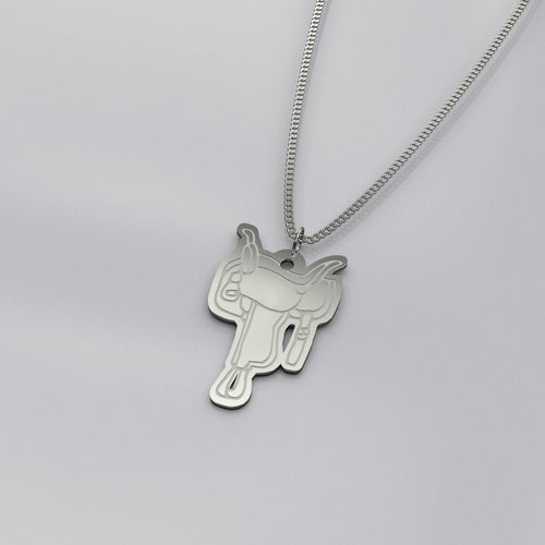 RV Happy Saddle Necklace