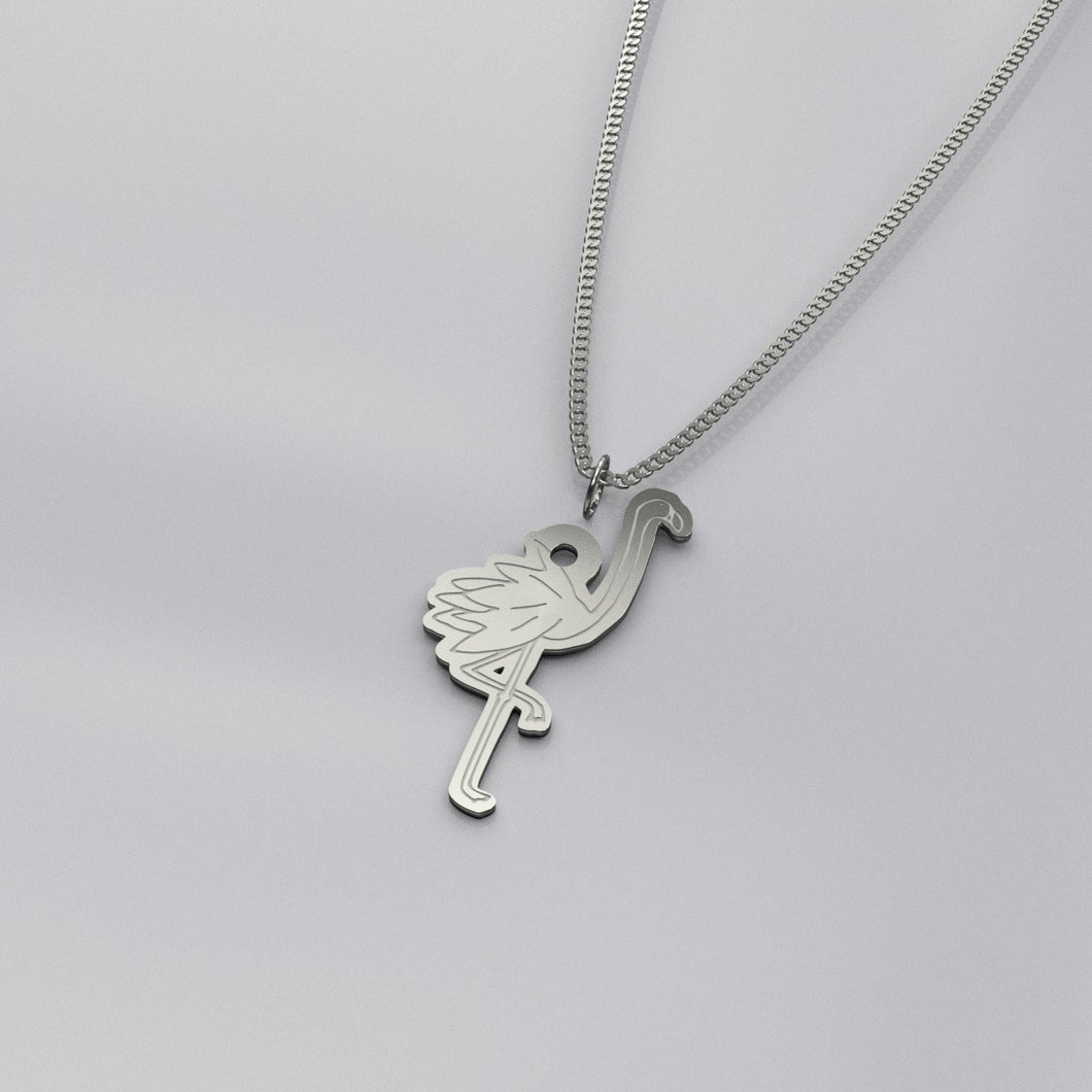 RV Happy Flamingo Necklace